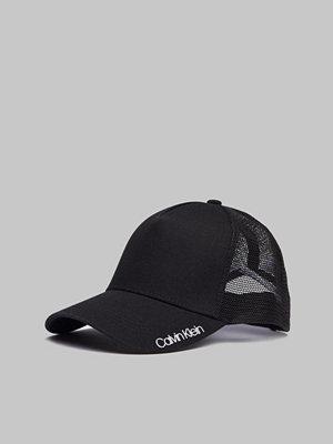 Kepsar - Calvin Klein Trucker Cap Black