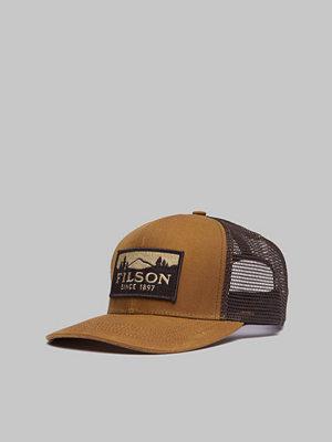 Kepsar - Filson Logger Mesh Cap Dark tan