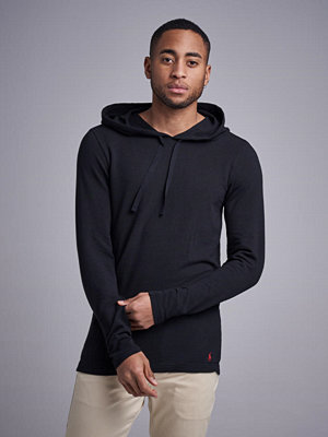 Street & luvtröjor - Polo Ralph Lauren Cotton Hoodie 001 Black