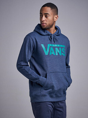 Street & luvtröjor - Vans MN Vans Classic Pullover Hoodie Dress Blues