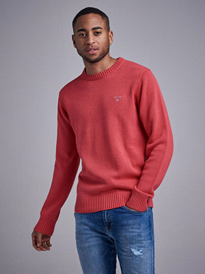 Gant Casual Cotton Crew  Mineral Red