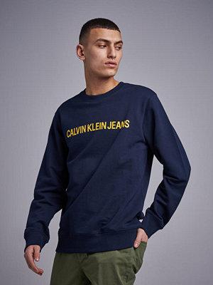 Calvin Klein Jeans Institutional Logo Reg Crewneck 402 Night Sky