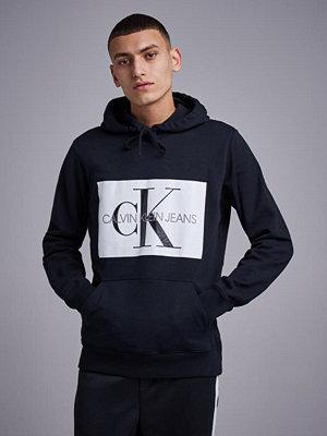Calvin Klein Jeans Monogram Box Logo Reg Hoodie 099 CK Black