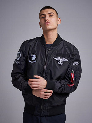 Alpha Industries MA-1 TT Patch SF 03 Black