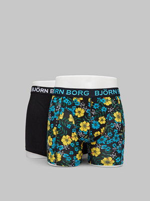 Björn Borg BB Blossom Sammy Shorts 90651 Black Beauty