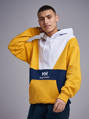 Street & luvtröjor - Helly Hansen HH Urban Retro Hoody Evening Blue