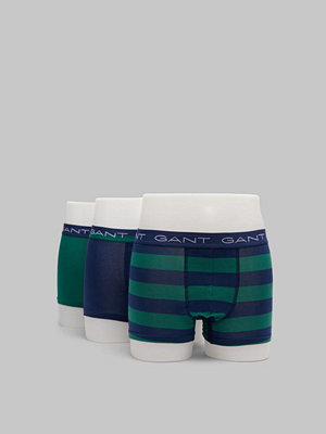 Gant 3-pack Rugby Stripe 373 Ivy green
