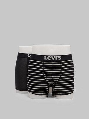 Kalsonger - Levi's 200SF Stripe Boxer Brief 2-pack 884 Black
