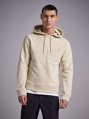 Street & luvtröjor - L'Homme Rouge Pocket Hoodie Pale lemon