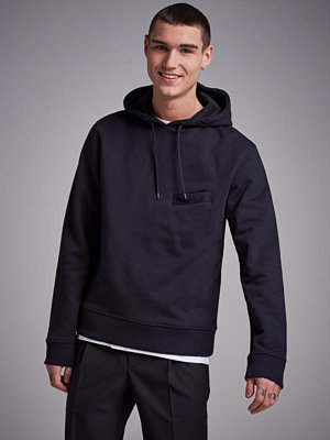 Street & luvtröjor - L'Homme Rouge Pocket Hoodie Black