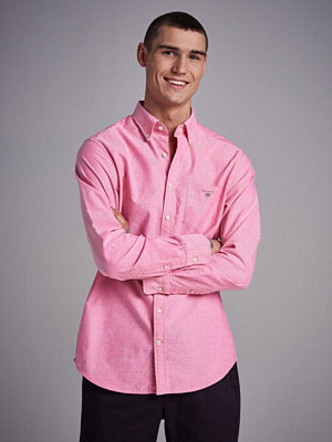 Skjortor - Gant The Oxford Shirt Reg BD Watermelon Red