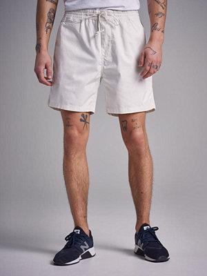 Shorts & kortbyxor - Gant Relaxed Embroidered Shorts Eggshell