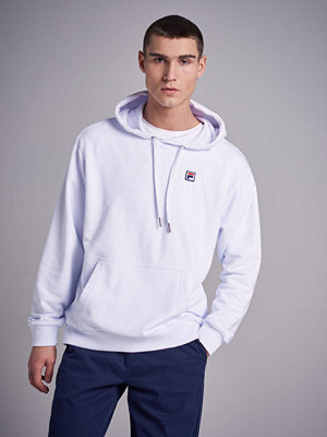 Street & luvtröjor - Fila Victor Hoodie Sweat Bright White