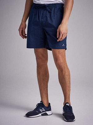 Shorts & kortbyxor - Gant Relaxed Embroidered Shorts Marine