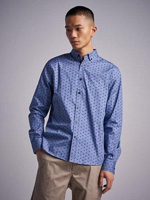 Skjortor - Mouli Lalibert Shirt Denim Flower