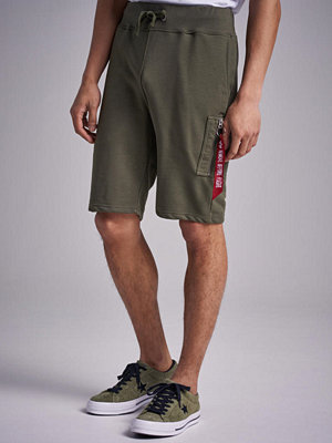 Shorts & kortbyxor - Alpha Industries X - Fit Cargo Short 257 Dark Green