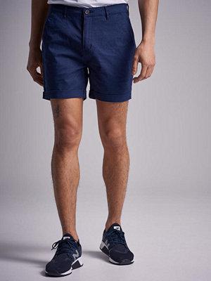 Shorts & kortbyxor - William Baxter Slim Chino Shorts Navy