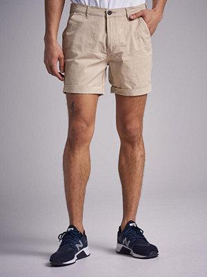 Shorts & kortbyxor - William Baxter Slim Chino Shorts Beige