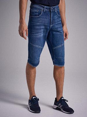 Shorts & kortbyxor - Studio Total Long Denim Shorts Blue