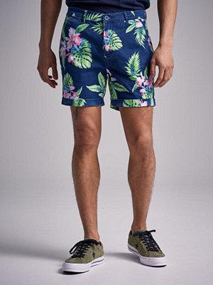 Shorts & kortbyxor - Studio Total Flower Shorts Navy