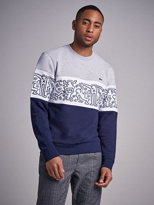 Tröjor & cardigans - Lacoste Keith Haring Theme Sweat J1T Marine