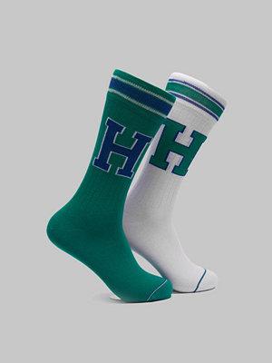 Strumpor - Tommy Hilfiger 2-pack T Sock 075 Green