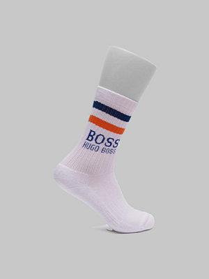 Strumpor - BOSS QS Rib Stripe White