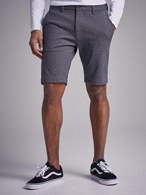 Shorts & kortbyxor - Gabba Jason Jersey Shorts Light Grey Melange