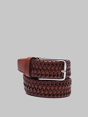 Bälten & skärp - Saddler 78705 Braided Belt Brown