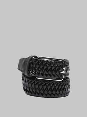 Bälten & skärp - Saddler 78705 Braided Belt Black