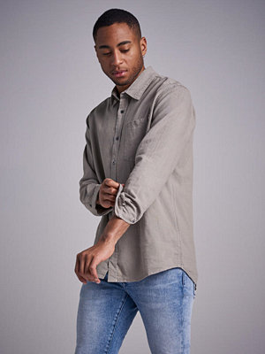 Skjortor - Neuw Waits Shirt Sage