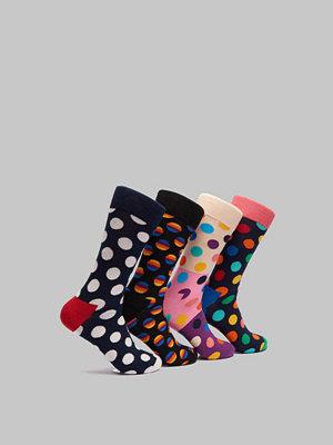 Strumpor - Happy Socks 4-pack Dot Box 0100 Mix
