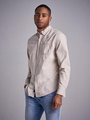 Skjortor - Dockers Londred Poplin Shirt Sahara Khaki