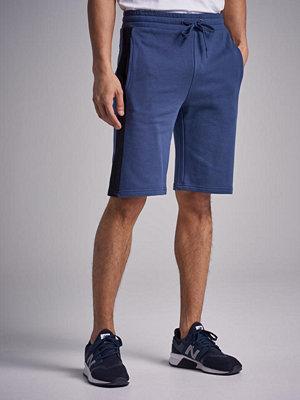 Shorts & kortbyxor - William Baxter Side Panel Sweatshorts Bl