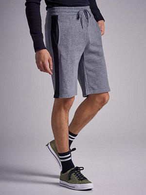 Shorts & kortbyxor - William Baxter Side Panel Sweatshorts Greymelange