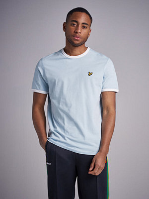 T-shirts - Lyle & Scott Ringer T-shirt Z496 Blue Shore