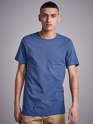 T-shirts - Bread & Boxers Crew Neck Tee Sea Blue