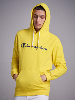 Street & luvtröjor - Champion American Classic Hoodie Yellow