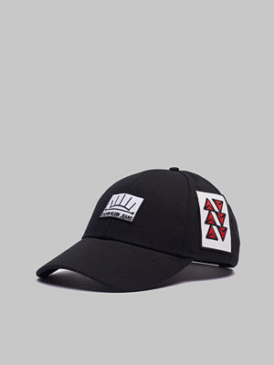Kepsar - Calvin Klein Scout Patch Cap Black Beauty