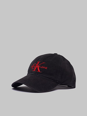 Kepsar - Calvin Klein Monogram Cap Black Beauty