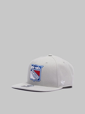 Kepsar - 47 Brand NHL New York Rangers No Shot Grey