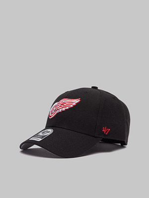 Kepsar - 47 Brand NHL Detroit Red Wings Black