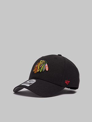 Kepsar - 47 Brand NHL Chicago Blackhawks Black