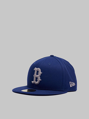 Kepsar - New Era 59Fifty League Essential Boston Dark Royal/Gray