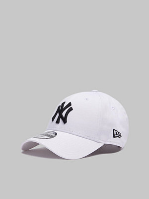 Kepsar - New Era 9Forty New York Yankees White/Black
