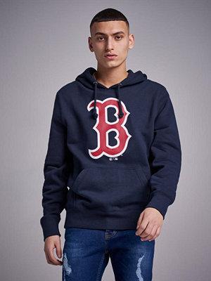 Street & luvtröjor - 47 Brand MLB Boston Red Sox Headline Hoodie Navy