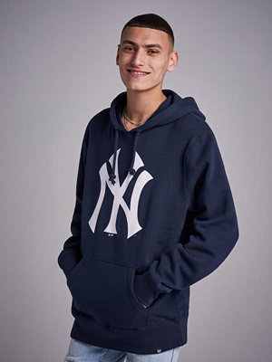 Street & luvtröjor - 47 Brand MLB NY Yankees Headline Hoodie Navy