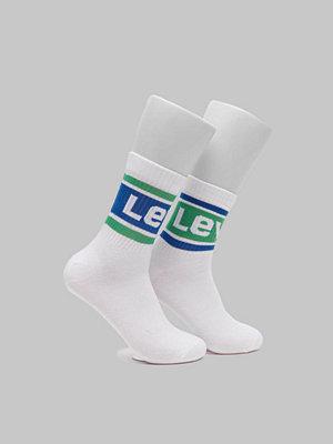 Strumpor - Levi's 2-pack Logo Sock Mid Cut 281 White