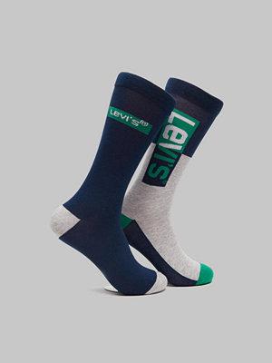Strumpor - Levi's 2-pack Logo Sock Reg Cut 321 Green