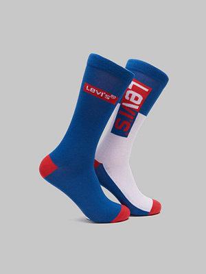 Strumpor - Levi's 2-pack Logo Sock Reg Cut 420 Blue
